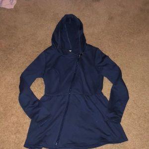 Navy ModCloth Zip Up